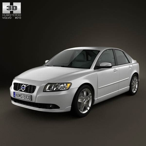 Volvo S40 2011 3d model from humster3d.com. Price: $75