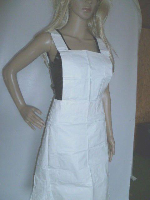 PVC Schrze Schwesternschrze Gr 3638 apron tablier Schrze Grembiule Retro  pvc rubber apron