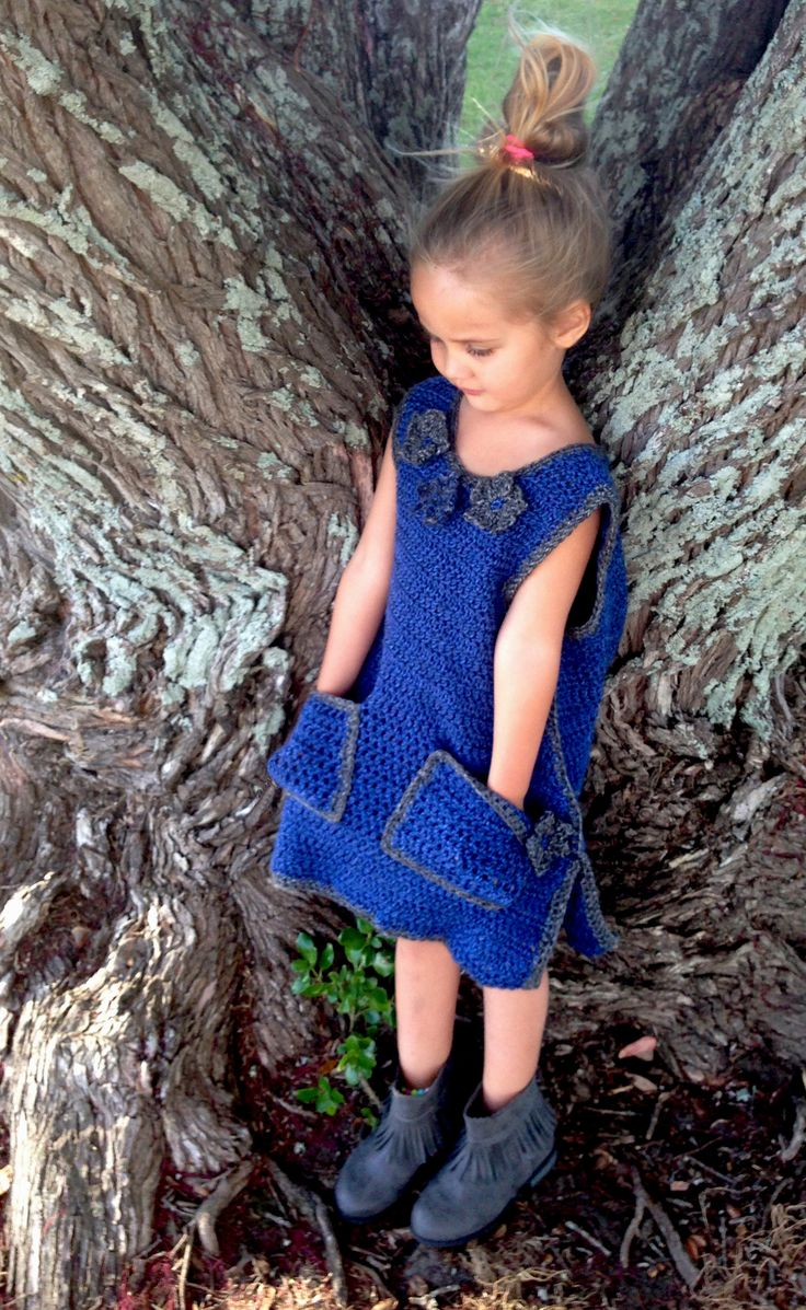 Girl's 'Adalyn' Dress - Crochet PATTERN ONLY www.etsy.com/shop/crochetrenaissance