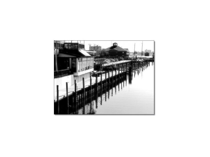 Infrared Style Giclee Fine Art  Print Photo Prints 5x7 River Cafe