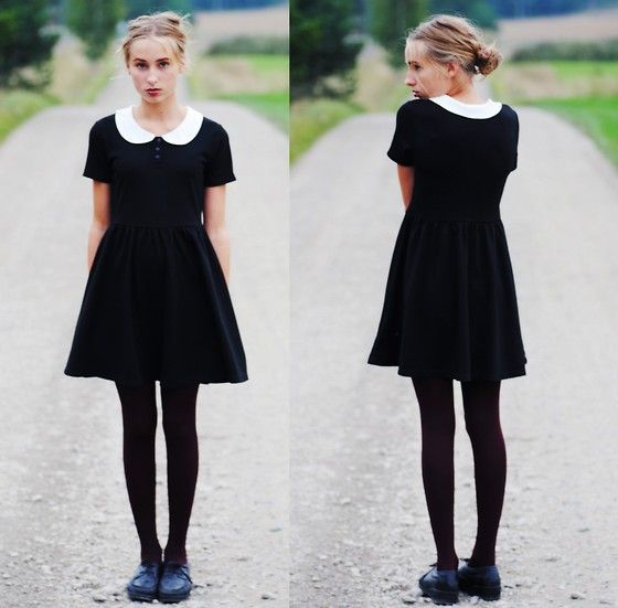 Dress With Collar From Monki