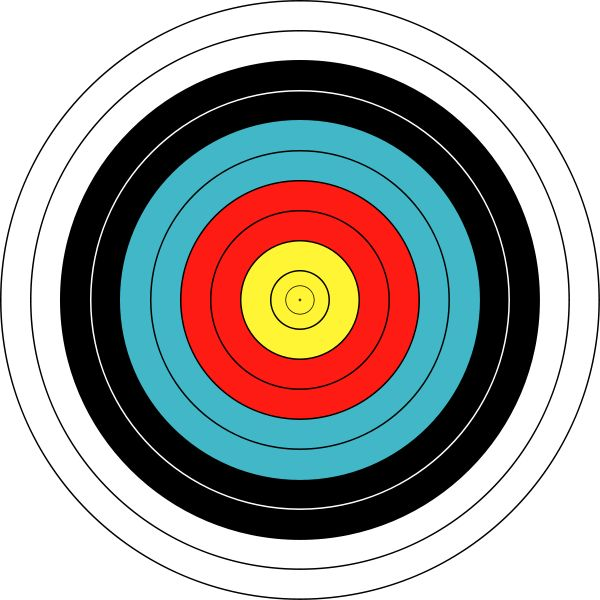 This is an image of Accomplished Printable Archery Targets