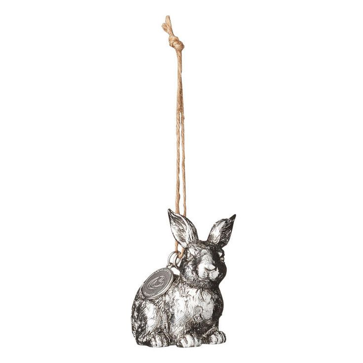 Kanin, Serafina hänge, 5,5cm, silver - Lene Bjerre