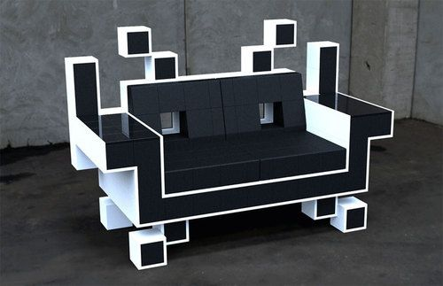 Space Invaders Couch