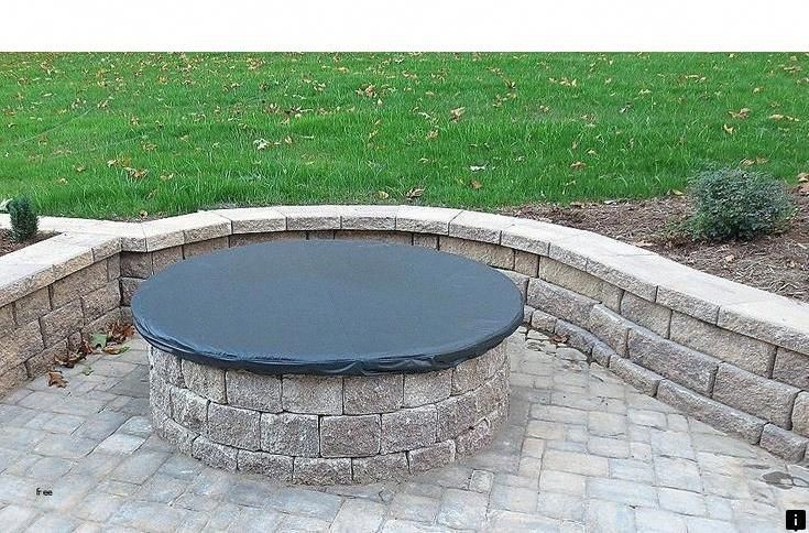 """New Round Steel Fire Pit Cover 44 """" Diameter 14g steel"""