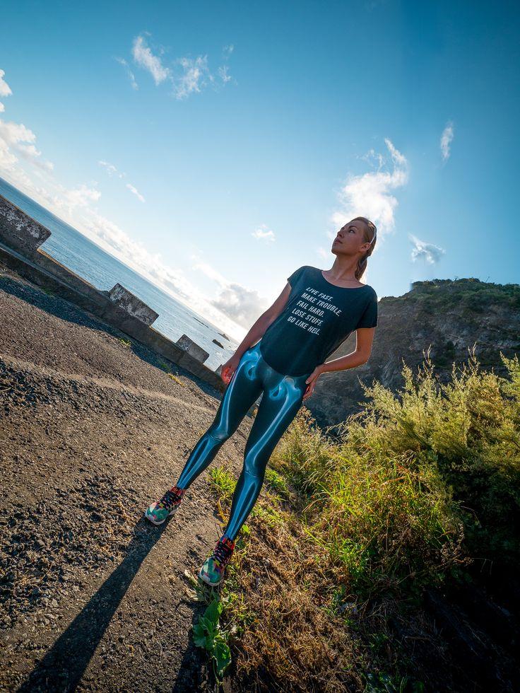 https://flic.kr/p/DU9sLY | X-ray leggings for woman | more info on muscleskinsuit.com/