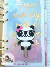Paperpins lifeplanner-  Panda girl
