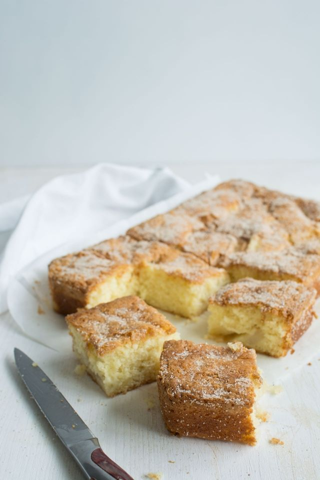 Caramelized Pear Cake Recipe
