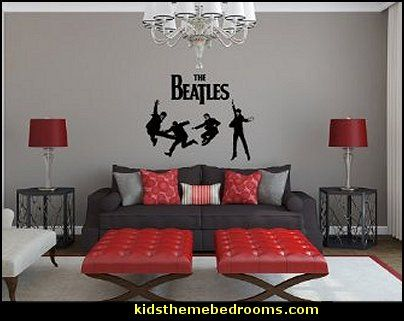 The Beatles wall decals