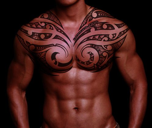 Polynesian tribal art- oh love muscle and tattoos... hawwt