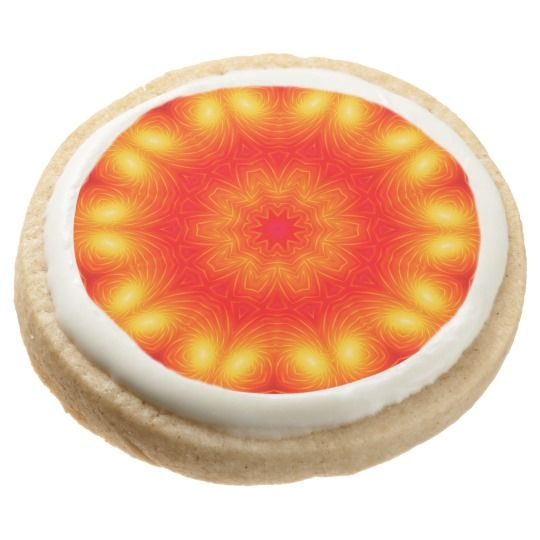 Party - 013 Round Shortbread Cookies - Pack of 4 by www.zazzle.com/htgraphicdesigner* #zazzle #party  #desert  #yummy #cookie #gift #giftidea