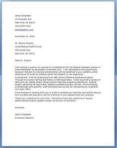 Awesome Cover Letter For Medical Assistant