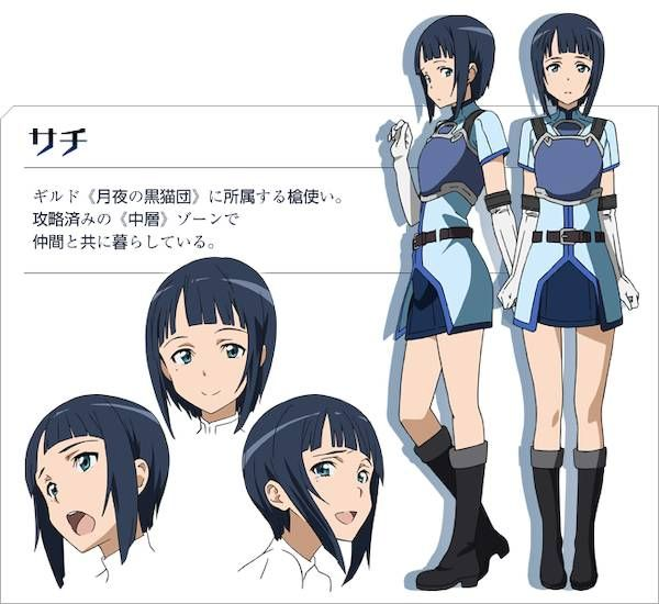 Sword Art Online Characters | Sword Art Online New Characters Confirmed