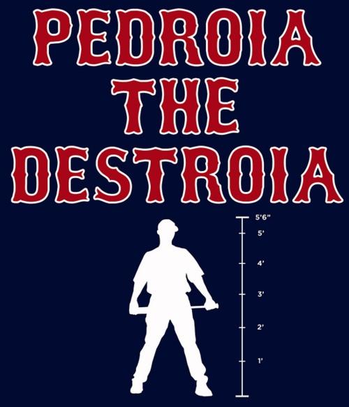 Love me some Pedroia!