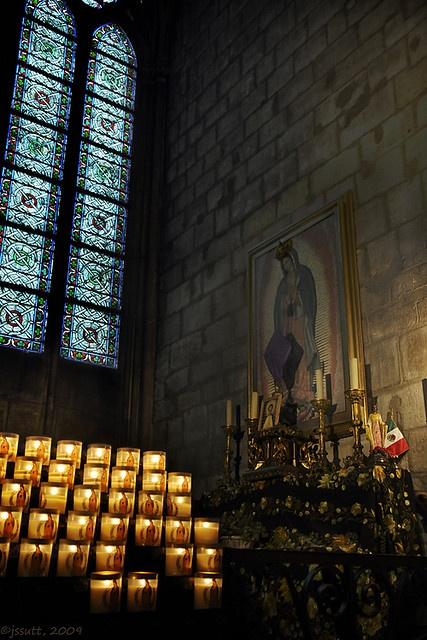 Our Lady of Guadalupe at Notre Dame, Paris, France