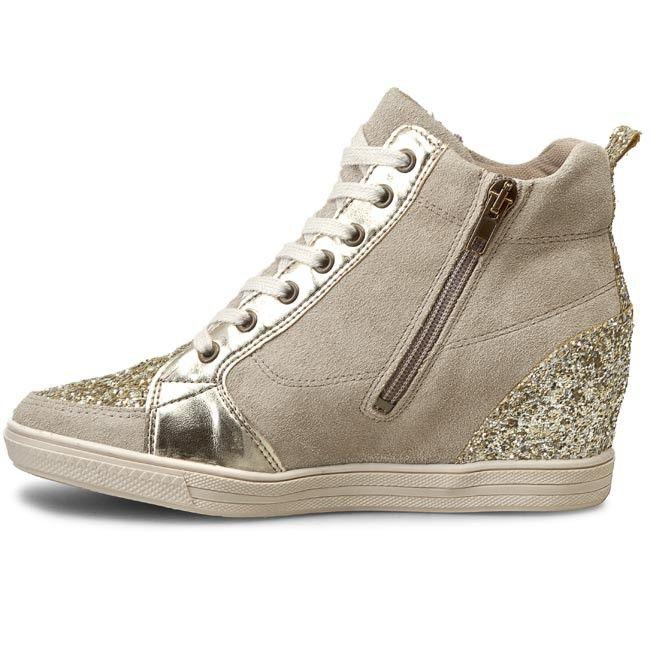 Sneakersy TAMARIS - 1-25258-27 Gold Comb 938
