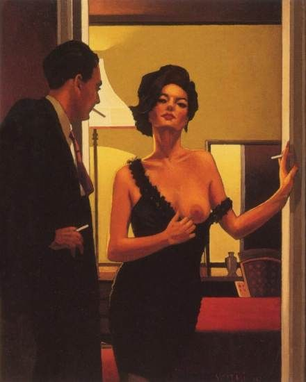 The Opening Gambit by Jack Vettriano http://jackvettriano.com