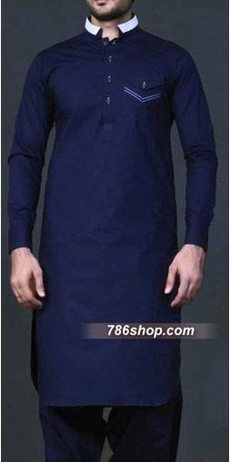 Blue Shalwar Kameez Suit | Buy Pakistani Indian Dresses