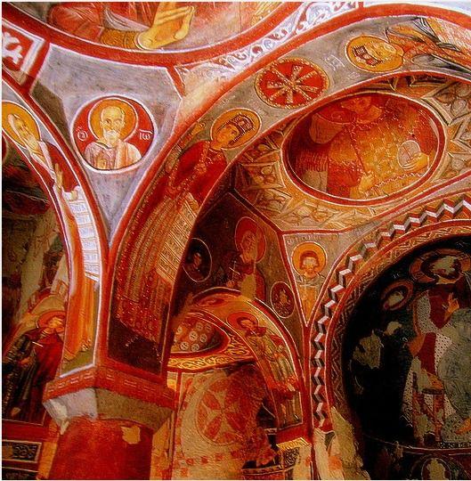 Elmalı Kilise, Göreme Açık Hava Müzesi Kapadokya Nevşehir/Turkey