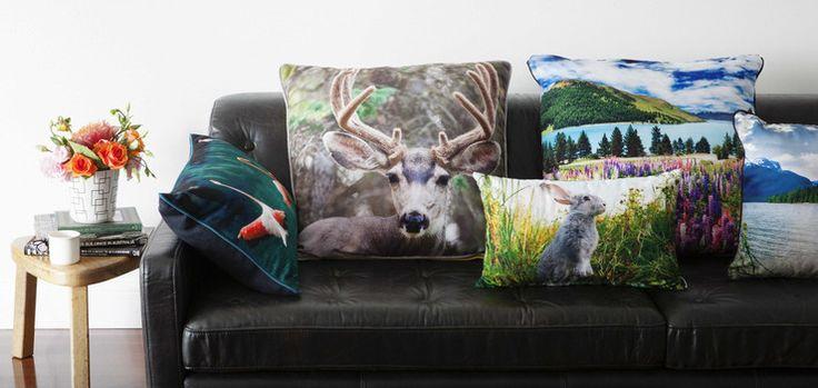 Cumulus Living cushions