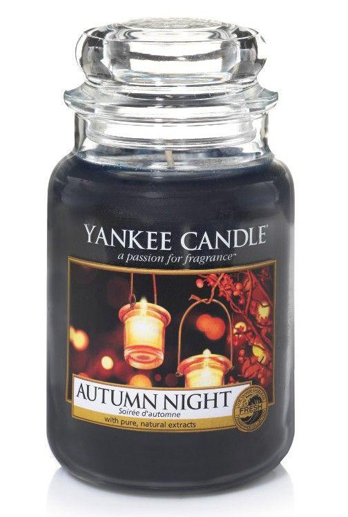 Soirée d'automne - Bougie grande jarre - Yankee Candle BOUTIQUE