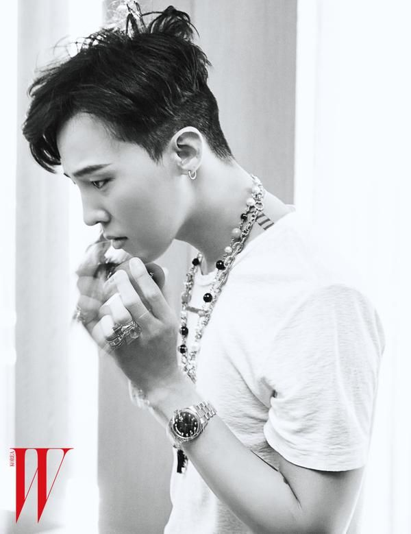 G-Dragon | W Korea June issue '15