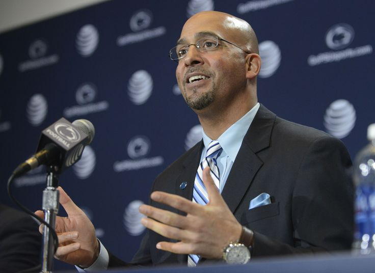 Penn State Coach Football James Franklin speaks after being introduced as Penn State's new football coach
