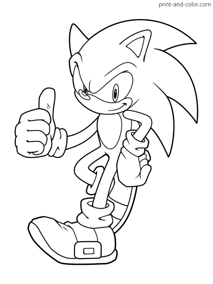 10+ Sonic the hedgehog coloring pages online inspirations