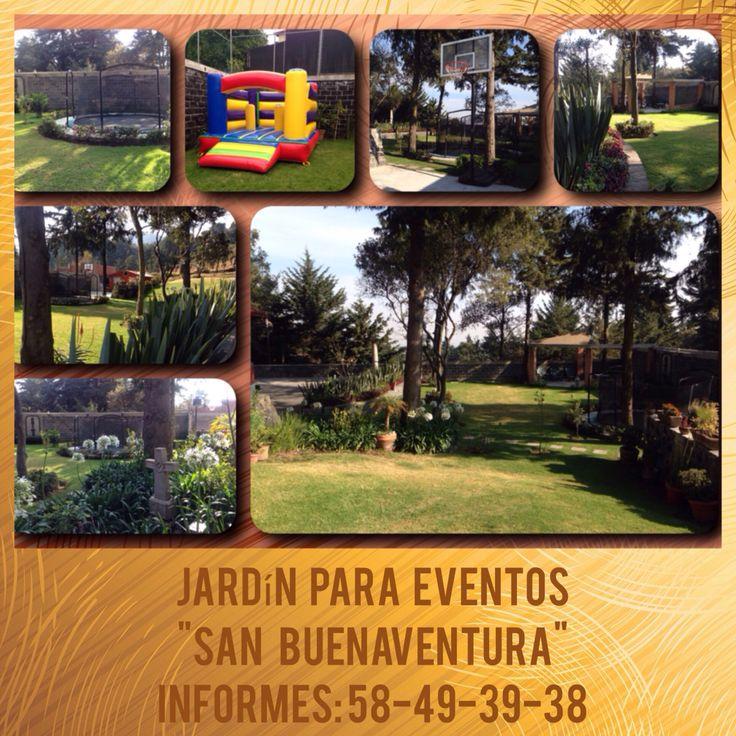 Hermoso Jardín para eventos