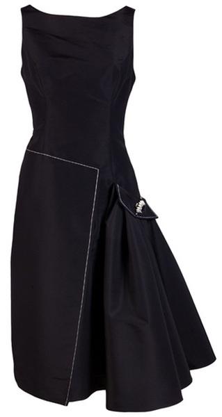 Dress Love - Asymmetric Pleated Pocket Dress