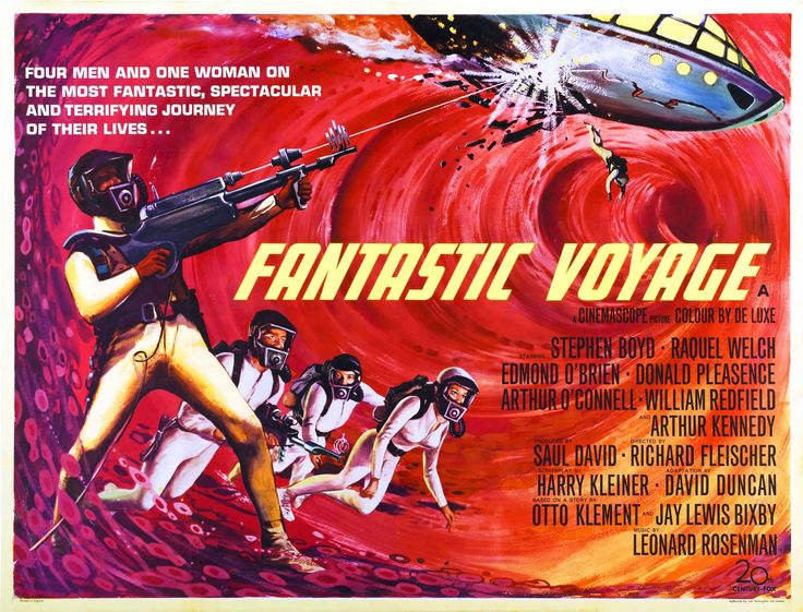 uk movie posters | Fantastic Voyage Landscape - sci fi b movie posters wallpaper image