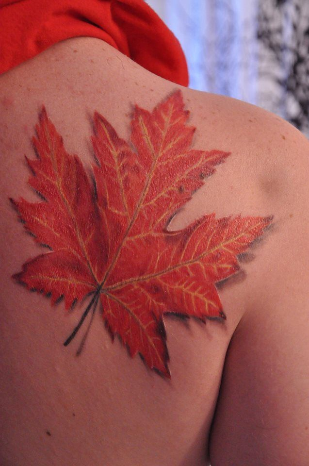 17 best ideas about maple leaf tattoos on pinterest leaf tattoos canada tattoo and canadian. Black Bedroom Furniture Sets. Home Design Ideas