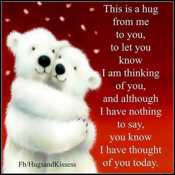 Pin by Amanda Lowery on Memes | Hugs, kisses quotes, Hug ...