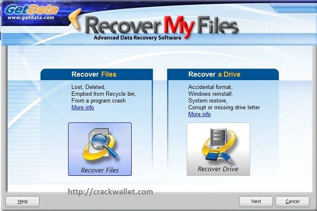 recover my files key v6.1.2