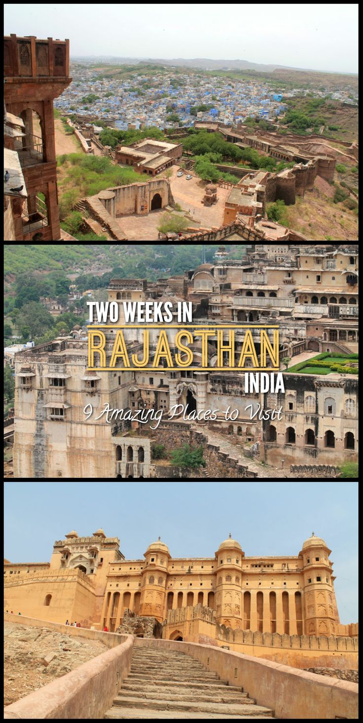 How to spend two weeks in Rajasthan, India -- this itinerary will take you to heaps of amazing historical cities, including Jaipur, Udaipur and Bundi.