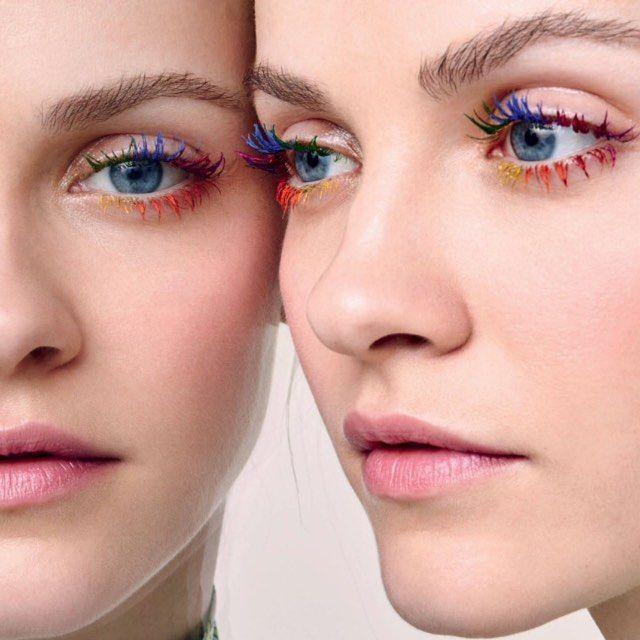 A tendência de arco-íris se torna febre na beleza