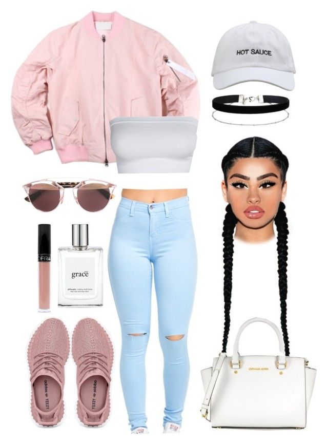 """""""#Summer16"""" by pandadonuttwin ❤ liked on Polyvore featuring Christian Dior, Miss Selfridge, philosophy and Michael Kors"""