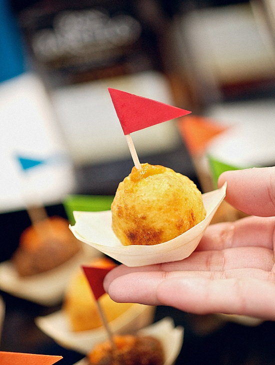 Yucca balls with cheese.... Caribbean flavour