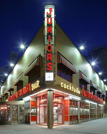 Juniors Restaurant in Brooklyn: I cannot believe I waitressed here as well. Can't remember exact years. Mid '70 ish. Undoubtedly best cheesecake!