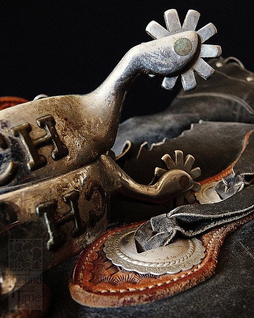 Chaps and Spurs by Found the Time Designs, via Flickr