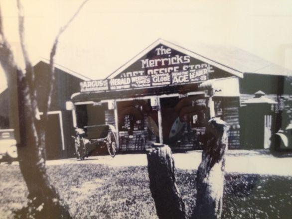 Merricks General Store circa 1886-1880