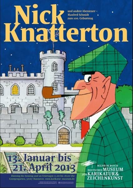 Nick Knatterton und andere Abenteuer – Manfred Schmidt zum 100. Geburtstag - Wilhelm Busch - Deutsches Museum für Karikatur und Zeichenkunst