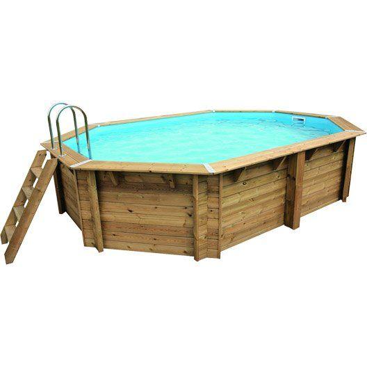 17 best ideas about piscine hors sol on pinterest raised for Piscine bois carre