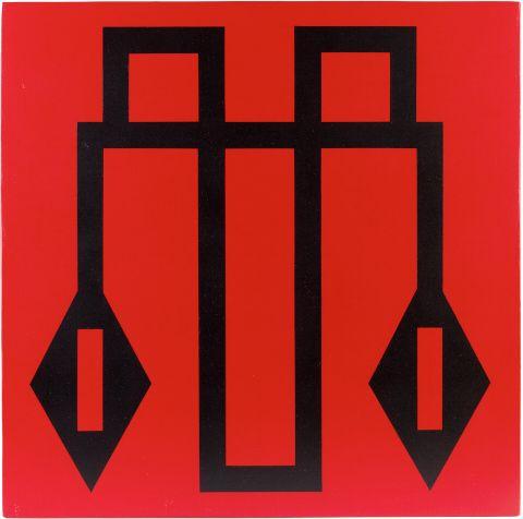 Balážová Mária (*1956) | Hadia geometria 42, 2003–2004 | Aukce obrazů, starožitností | Aukční dům Sýpka