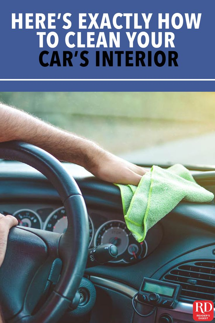 Heres exactly how you should clean your cars interior