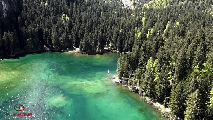 Aerial lake tovel