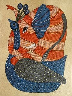 Pep Up Street, Gond Art, Tribal Art, Eclectic modern home decor, pepupstreet