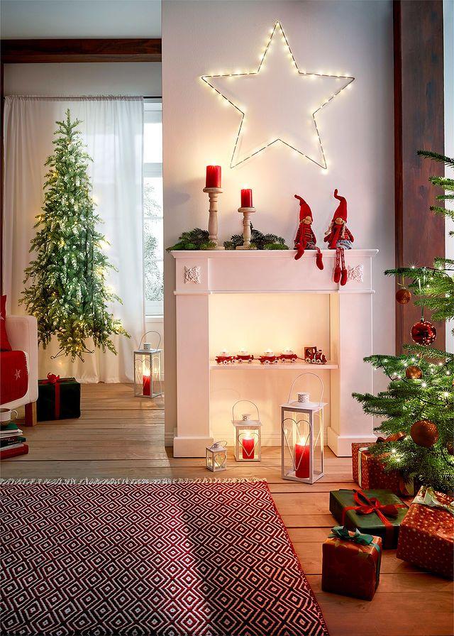Zaslona Choinka Led 1 Szt Bialo Zielony Bonprix Sklep Holiday Decor Decor Christmas Tree