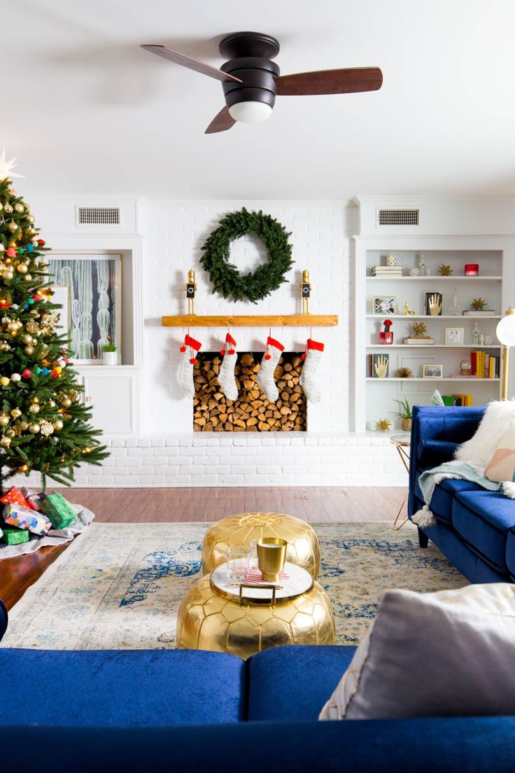 The Holiday Living Room Makeover we Gifted with Lowe's! | Sugar & Cloth