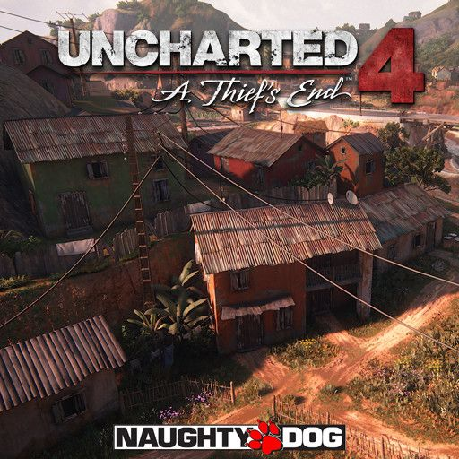 Uncharted 4: A Thief's End - City Chase, Anthony Vaccaro on ArtStation at https://www.artstation.com/artwork/R5mPO